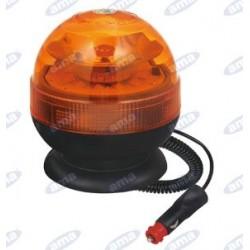GIROFARO A LED MAGNETICO 12-24V